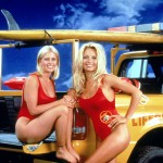 Nicole Eggert And Pamela Anderson Of 'Baywatch'