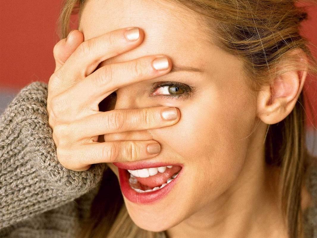 Deep finger female masturbation