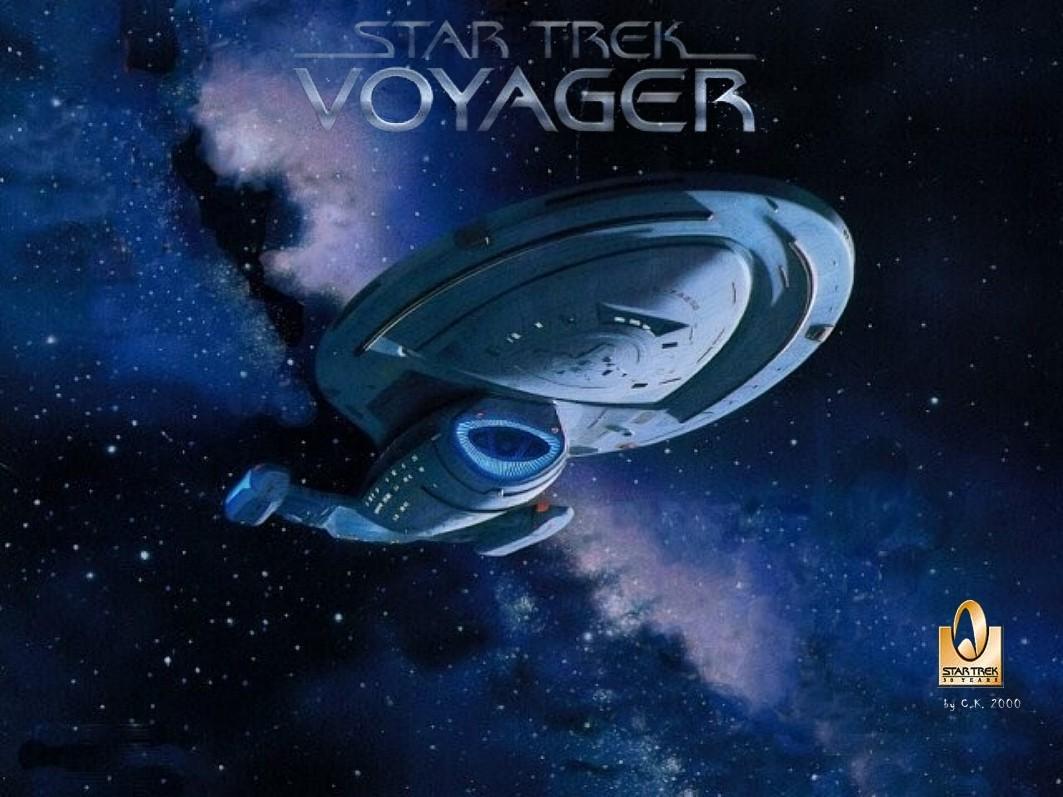Star trek voyager spacecraft - Star Trek Voyager 024