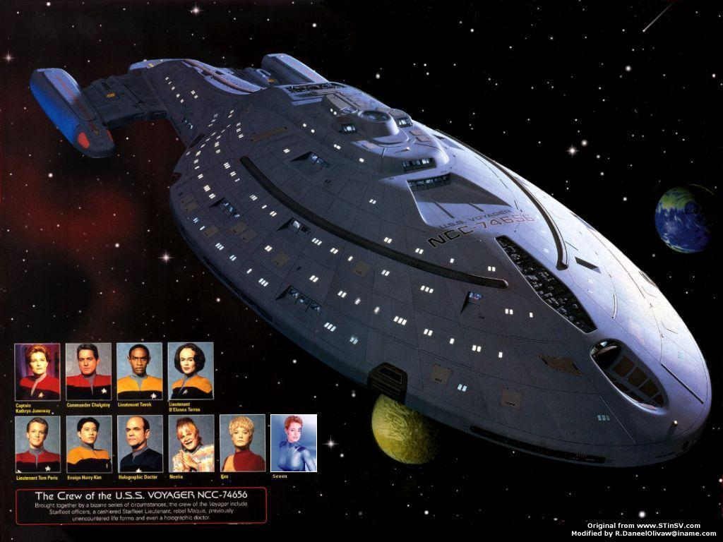raumschiff voyager wallpapers