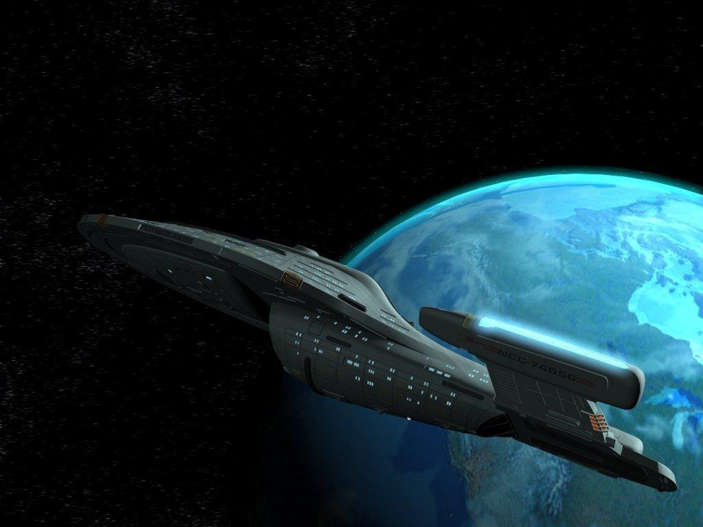 Star trek voyager spacecraft - Star Trek Voyager 032