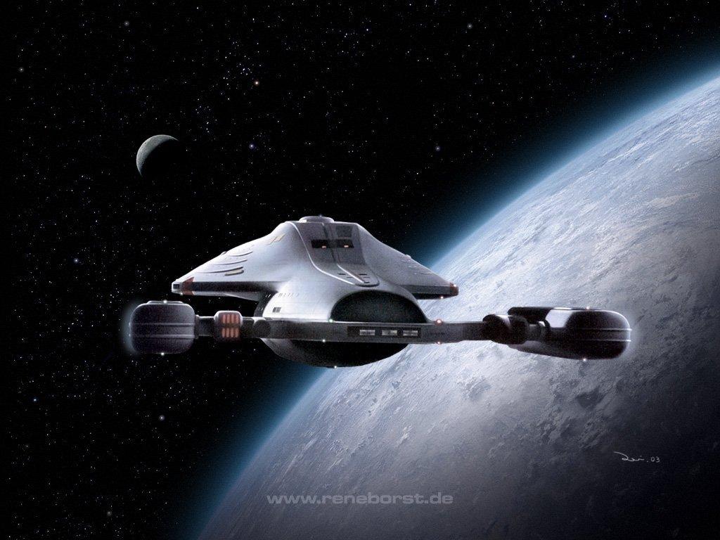 Star trek voyager spacecraft - Star Trek Voyager 036