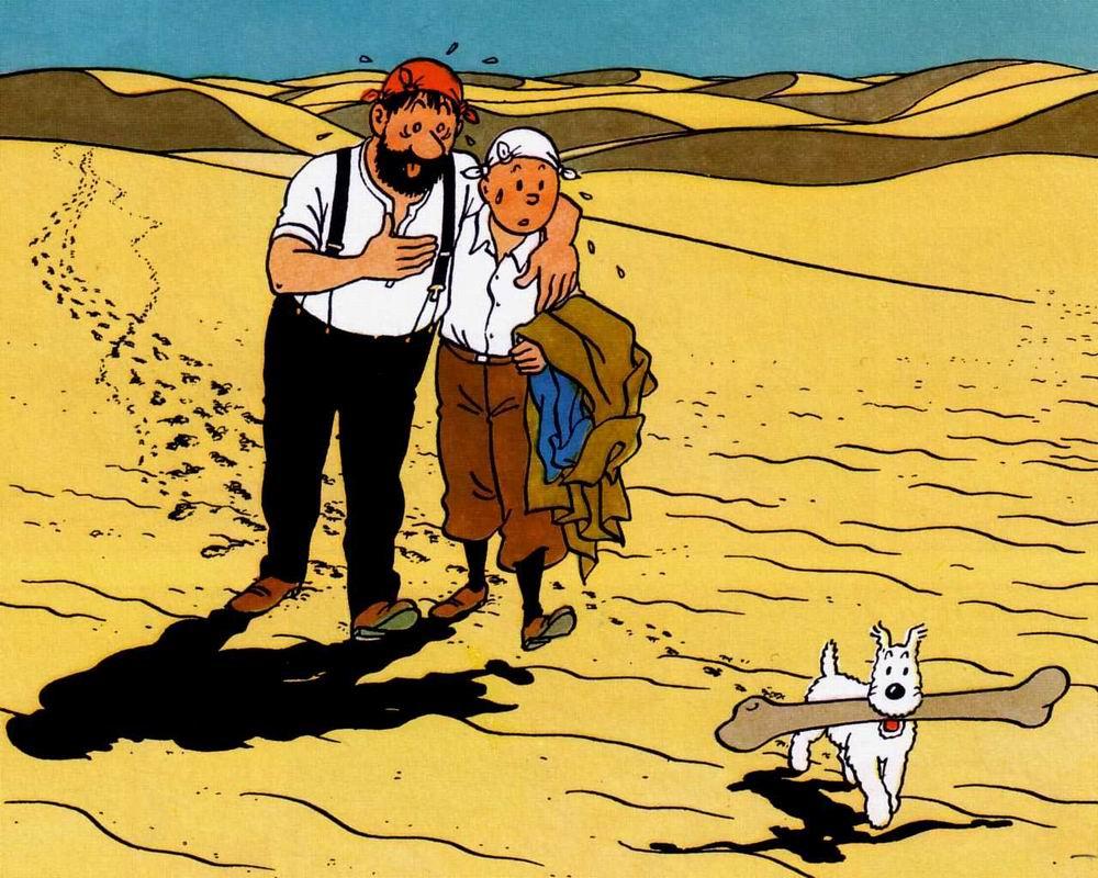 Tintin et milou topkool - Image de tintin et milou ...