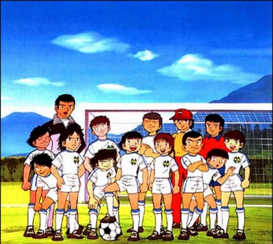 Olive Et Tom Captain Tsubasa Dessins Animés Topkool