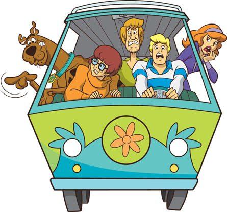 Favorit Scoubidou - Scooby-Doo - Dessins animés - TopKool YN59