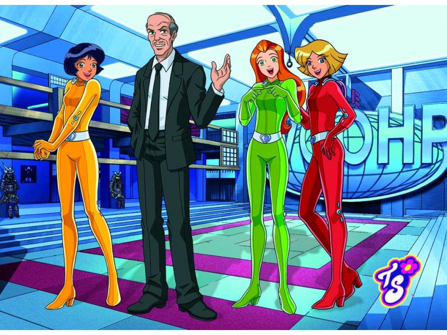 Totally Spies Jerry Coloring Pages