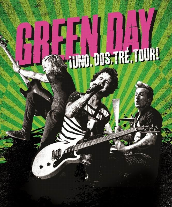 Green Day On Broadway Tour Dates