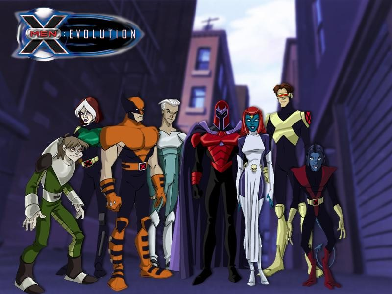 X Men Evolution Dessins Animes Topkool