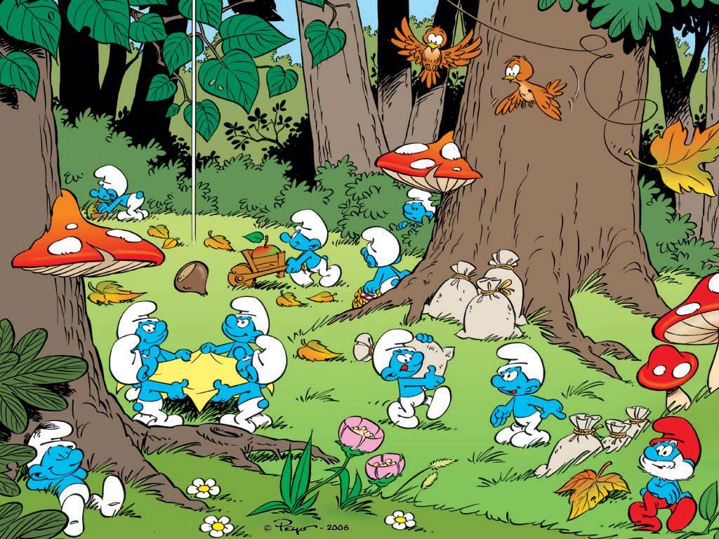 Les schtroumpfs bandes dessin es topkool for Aeiou el jardin de clarilu mp3